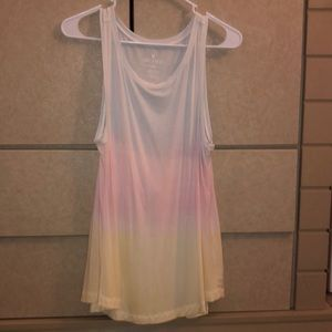 American Eagle Pastel Gradient Soft & Sexy Tank
